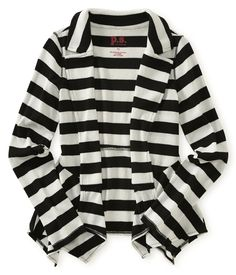 Kids' Striped Thermal Cardigan - PS From Aeropostale