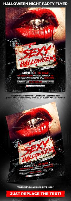 """Buy Halloween Night Party Flyer by on GraphicRiver. Halloween Night Party Flyer """"Halloween Night Party Flyer is perfect for event/celebration that you are o. Halloween Flyer, Halloween Poster, Halloween Carnival, Halloween Design, Halloween Night, Happy Halloween, Halloween Party, Horror Nights, Party Rock"""