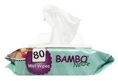 Bambo Nature Fragrance Baby Wet Wipes - 80 Pieces per Pack Baby Wipes Travel Case, Baby Wipe Case, Wipes Case, Biodegradable Plastic, Biodegradable Products, Bambam, Baby Wipe Holder, Baby Wipes Container, Wet Wipe