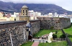 The Castle of Good Hope is the oldest surviving colonial building in South Africa.