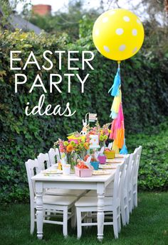 4 Simple Steps to a fab Easter Party for Kids from @aliciahappywish! | Project Nursery