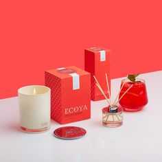 ECOYA Limited Edition - Citrus & White Magnolia  www.ecoya.com