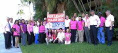 Berger Commercial Realty in Ft. Lauderdale is donating $5 to the Holy Cross Hospital Dorothy Mangurian Comprehensive Women's Center for each photo you take and submit of one of their signs.