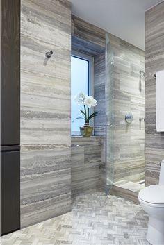 Beautiful! Artistic tile available at Sunderlands. #Bathroom #sunderlandstyle