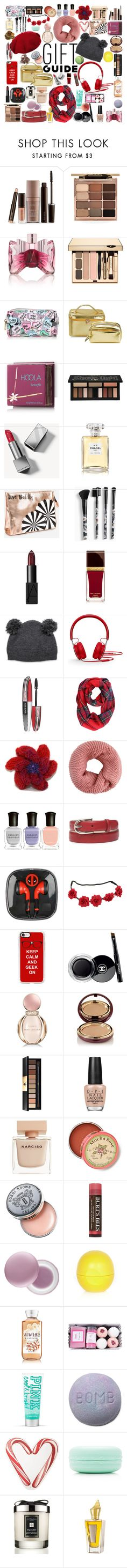 """Everything for a Bestie!"" by elliewriter ❤ liked on Polyvore featuring Laura Mercier, Stila, Viktor & Rolf, Hoola, Kat Von D, Burberry, Chanel, Ashley Stewart, Torrid and NARS Cosmetics"