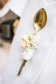 Spoon boutonniere