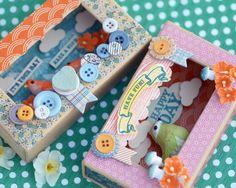 Birthday Card matchbox