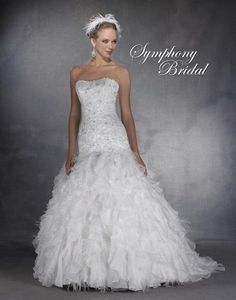 Symphony Bidal #S2900.  For more information on these gowns and others that we carry in our store please call toll free 1-800-344-2672. Or visit thewinneroutlet.com