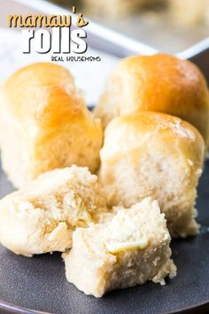 Mamaw's Rolls are a classic yeast dinner roll recipe just like my great-grandma used to make. They're so easy to make and you can even be made ahead of time and frozen for later.