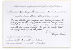 What Formalities Are Required When Writing A Wedding Rsvp Response Discover The Correct Answers Regarding Proper Card Etiquette