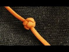 How To Tie A Paracord Turk's Head Stopper Knot / Celtic Button Knot - YouTube