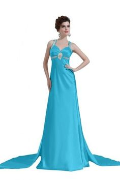 Modern Halter Backless Chaple Train Beaded Satin Evening Dress Custom made (Custom-made, Custom-made) Lemandy http://www.amazon.co.uk/dp/B00GD6RZSA/ref=cm_sw_r_pi_dp_0tliwb01PZHEE