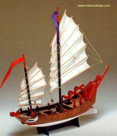 Sampan - Wooden Model Ship Kit Sampan by Amati Model Ship Kits