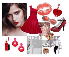 """""""Retro ❤️"""" by cristina-lungu-1 on Polyvore featuring MAC Cosmetics, Miss Selfridge and Banned"""