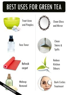 UNUSUAL WAYS TO USE GREEN TEA FOR BEAUTY AND HOME