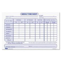 WEEKLY EMPLOYEE PAYROLL RECORD - Google Search   construction ...