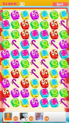 App Shopper: AAA Match 3 Candy Blaster Blitz Mania - Tap Swap and Crush Free Family Fun Multiplayer Puzzle Game (Games)