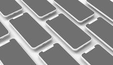 Mobile App Design iPhone X Showcase Mockup | MockupWorld
