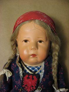 "1940s 1950s Kathe Kruse Vintage Doll Celluloid 18"" Cloth Body German Germany EXL | eBay"