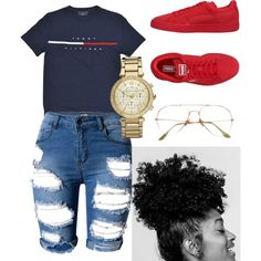 A fashion look from June 2017 featuring Puma sneakers and Michael Kors watches. Browse and shop related looks.