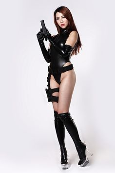 Alibaba グループ | AliExpress.comの からの   New Sexy Faux Leather Latex Catsuit…