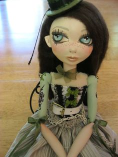 My niece should try this!  She would make amazing dolls I am sure of it!