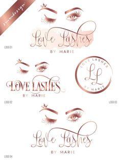 Makeup artist logo,Eyelash logo, Logo design, Lash logo, Lash extensions, Makeup logo, Rose gold log Business Names, Business Card Logo, Makeup Artist Logo, Makeup Artists, Lash Lounge, Eyelash Technician, Social Media Poster, Eyelash Logo, Makeup Drawing