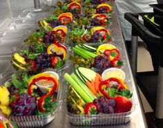 Rainbow Grab-n-Go Salads from Kalispell Public Schools in Montana.