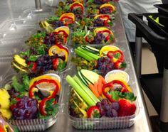Rainbow Grab-n-Go Salads from Kalispell Public Schools in Montana.