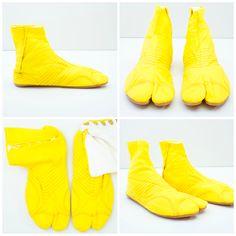 Okinawa Yellow Japonista Sole Jika Tabi Shoes - Japan Lover Me Store Tabi  Shoes 58a47e2a2