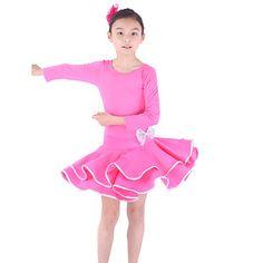 upea dancewear viskoosia Latinalainen tanssi mekko lapsille (lisää värejä) – EUR € 21.99