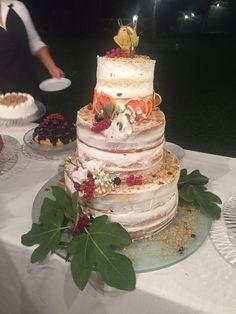 Wedding cake #nudecake #nakedcake #weddingcake #tortanuziale #torta #cake