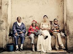 Mujer vestida de novia Foto de Dmitri Markine