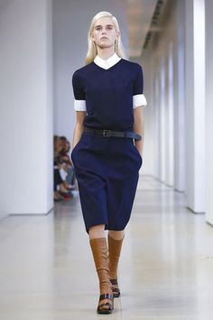 Jil Sander Ready To Wear Spring Summer 2015 Milan sweater all-season skirt <3