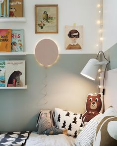 A Swedish family house Une maison de famille Su doise color blocked kids room minimalist scandinavian style Girl Room, Girls Bedroom, Bedroom Decor, Boys Bedroom Furniture, Kid Bedrooms, Wall Decor, Scandinavian Home, Minimalist Scandinavian, Minimalist Kids