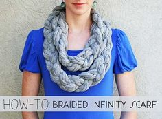 How To Make A Braided Infinity Scarf