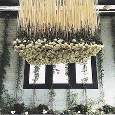 Suspended roses in the air! #regramlove @glitterlaine  #roses