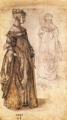Albrecht Durer -Two Venetian women