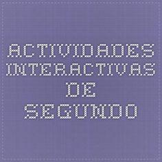 Actividades interactivas de segundo
