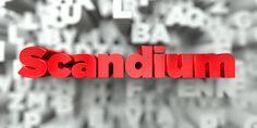 Heraldry of Life: 21 Scandium *Sc-Chemical element symbols