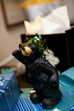 #Baylor wedding gift from one bear to another