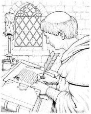 středověk History For Kids, Coloring Books, Medieval, Art Ideas, Vintage Coloring Books, Mid Century, Coloring Pages, Middle Ages