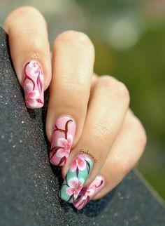 cool 80+ Cute and Unique Nail Art Ideas For Short Nails! ⋆ Nail Art Ideas