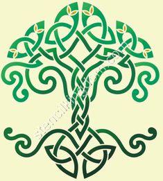 celtic knot harp designs   — celtic design – about.com painting, A free celtic design ...