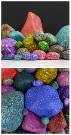 Alan James - Painted Stones
