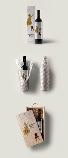 Mi amigo Kruger › Vino Fermina Daza - Vino - Packaging