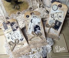Shabby Chic Inspired: tags