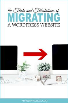 Migrating a WordPress website is not for the faint of heart. Even if all goes smoothly, there are still loose ends. This is what I learned. via @AlmostPractical
