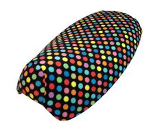 Love this Retro dot pattern, brings back memories!  Soft and colorful, this is a great fleece seat cover for your Yamaha Vino 125 or we can make it for another scooter seat.  Handmade in PA, and available in our Etsy store.