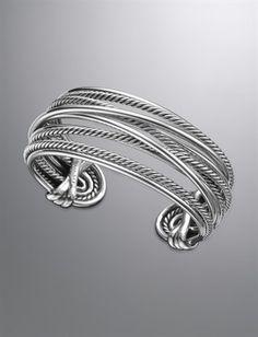 Crossover Bracelet, Sterling Silver